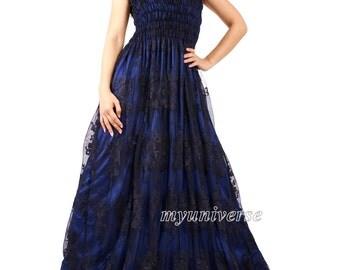 Black maxi dress 1x