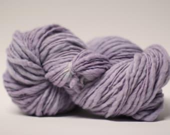 Thick and Thin Wool Yarn Slub TTS(tm) Handdyed  Fine Merino 66tts14011 Dentata