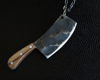 Butcher's Cleaver Necklace (mid-size)