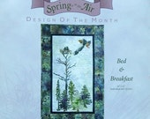 50%OFF McKenna Ryan Pine Needles BED & BREAKFAST Spring Is In The Air - Quilt Quilting Quilter Pattern Template