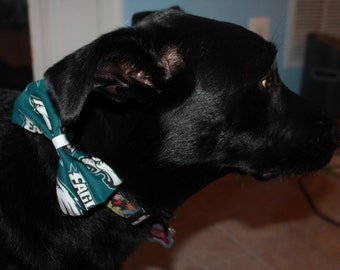 Philadelphia Eagles Dog Bow/Bow Tie Accessory