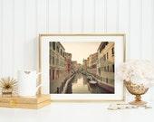 Venice Waterways Photograph. Venice Photo. Italy Art Print. Fine Art Photography. Italy Wall Art. Dreamy Wall Art. Home Decor. Travel Print