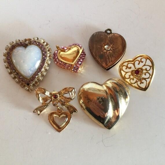 Heart Shaped Brooches Pins Pendants Vintage Lot 799. Enamel Stud Earrings. Mens Suit Brooch. Volcano Bracelet. Titan Raga Watches. Four Diamond. Turquoise Sapphire. Bracelet Diamond. Hawaiian Wood Wedding Rings
