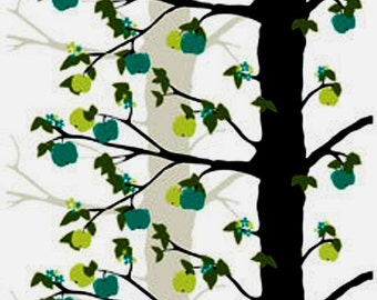 Cotton Fabric By The Yard- Scandinavian Design- Professional Print- For Curtains, Roman Blinds, Pillow covers etc.