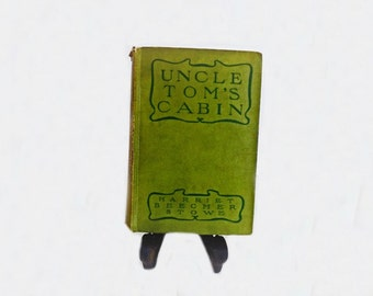 1900 Antique Book, Uncle Tom's Cabin, Life Among the Lowly, Literary Classic, Classical Literature, Harriet Beecher Stowe,