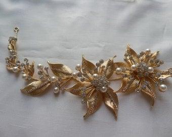 Bridal Headpiece, wedding headpiece, bridal hair vine