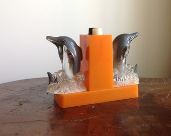 Vintage Dolphin Salt and Pepper Shakers