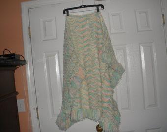 Hand Knitted baby  Blanket, Super Soft blanket