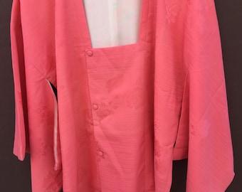 Vintage japanese silk kimono/haori