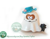 "McDonalds Halloween McNugget Buddy Ghost ""McBoo"" 1990s Toy"