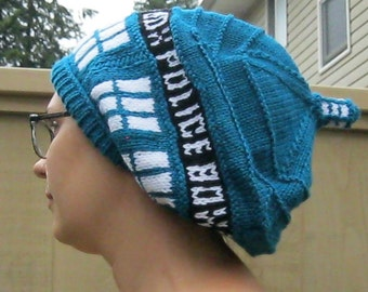 Police Box Slouch Hat