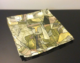 Picasso Oblong Scarf - Art Print