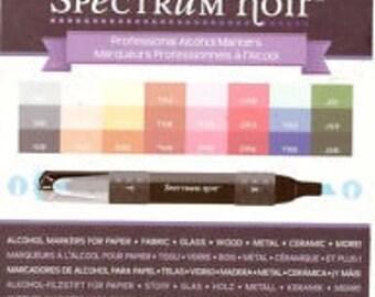 Spectrum Noir Alcohol Markers - Core Essentials - 24 pack