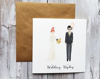 Wedding Couple Wedding Greeting Card