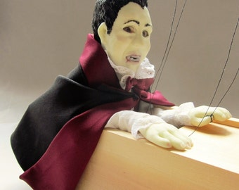 Count Dracula Marionette