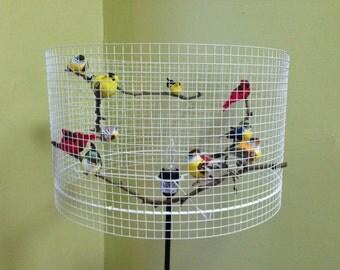Birdcage Lampshade Nursery Floor Lamp Table Lamp Lampada