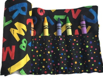 Bright Letters Crayon Roll