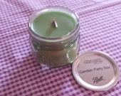 "6oz Wood Wick Soy Candle GARDEN PARTY ""Candles for St. Christopher's Children's Hospital"""