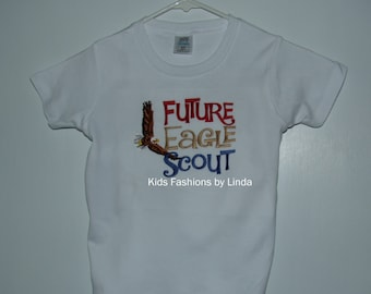 Future Eagle Scout Boy Short Sleeve Shirt