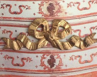 Vintage French Ribbon Bow (1 pc)