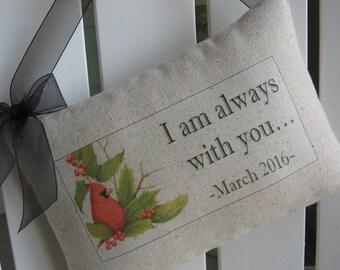 Mothers Day, Cardinal, When a Cardinal Appears In Your Yard, Sympathy, Door Hanger, Woodland, Memorial, Door Decor, Birds, Established Date
