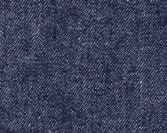 Denim Navy Fabric 12oz  Yardage   SALE Destash   By the yard  60 wide   Cotton Denim Blue Jean