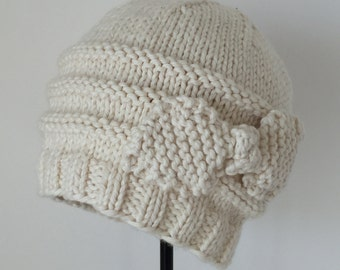 Margaret Organic Cotton Baby Hat