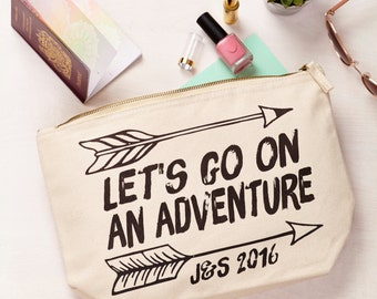 Personalised Adventure Travel Pouch