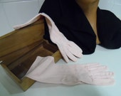 Gloves, vintage, soft pink, sophisticated lady.