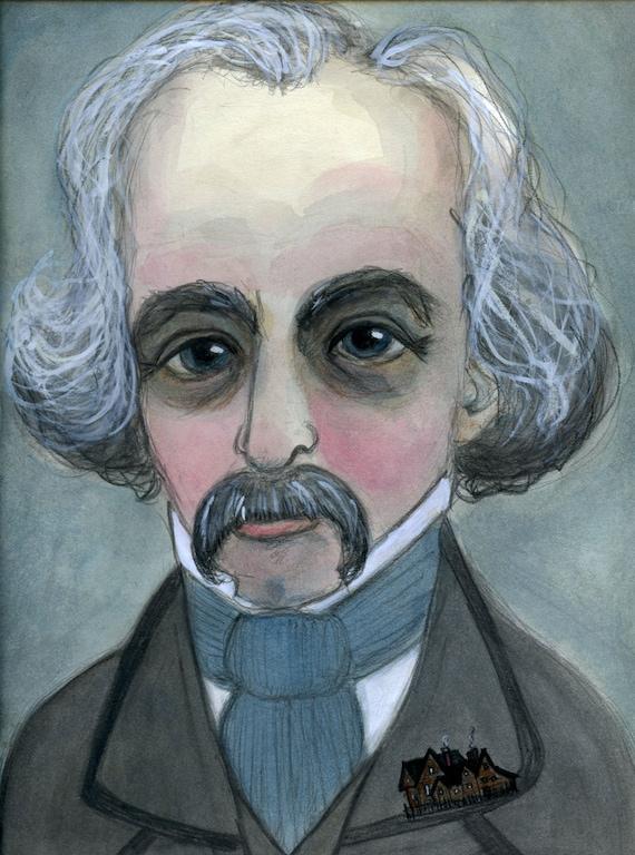 Nathaniel hawthorne writing style