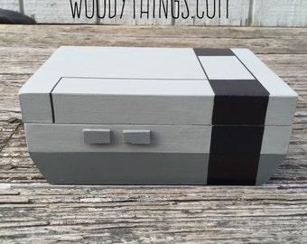 Nintendo NES Inspired Valet/Keepsake Box