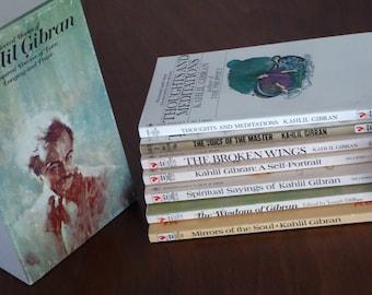 Kahlil Gibran Selected Works Seven Paperback Books