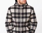 Checked Wool mens jacket.