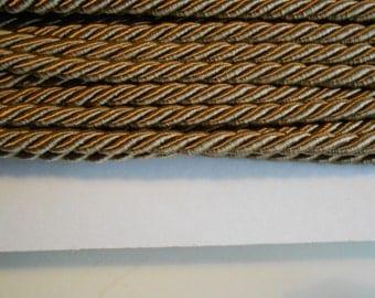 Cord Twisted Satin Deer Brown