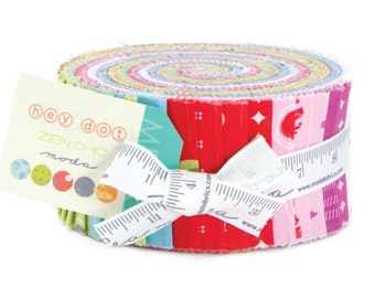 SAle Hey  dot  cotton jelly roll by Zen Chic for Moda fabric