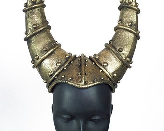 Gold Horned Headdress