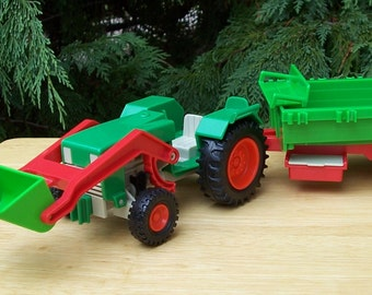 Playmobil Tractor and Wagon 1977 Geobra