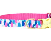 Crew LaLa™ Periwinkle Picasso Dog Collar