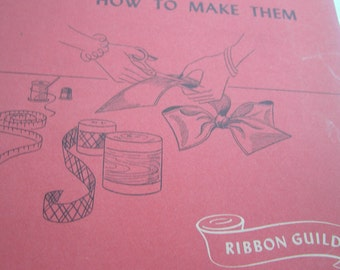 Ribbon Bows and How To Make Them