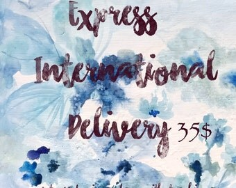 Express international delivery