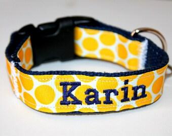 Name Dog Collar Matching Leash Optional PHONE and NAME ADD Dog Collar with Name Dog Collar with Phone Number Custom Dog Collar