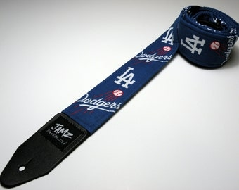 Professional baseball team handmade guitar strap with double padding - This is NOT a licensed product