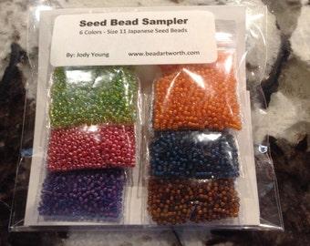 Seed Bead Sampler