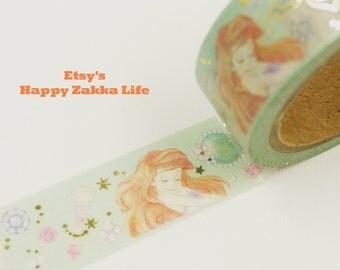 Ariel - Japanese Washi Masking Tape - 7.6 Yards