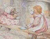 Beatrix Potter Trivet - Vintage Kitchen Trivet - Beatrix Potter Mrs. Tiddlywinks Hedgehog
