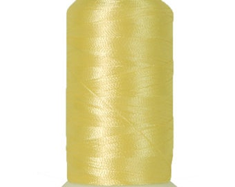 No. 152 (Lemon) 1000m Polyester Spool of Embroidery Machine Thread
