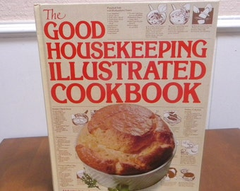 Good Gousekeeping Illustrated Cookbook 1980 NM condition