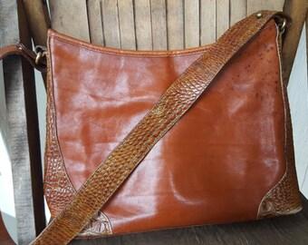 SCALES    ///    Leather BRAHMIN Bag