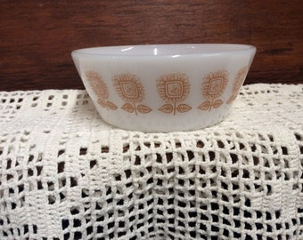 Vintage Federal Glass Cereal Bowl  Collectible Mid Century Free Shipping
