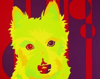 West Highland Terrier Art - Louis